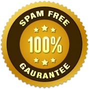 100% SPAM Free Guarantee